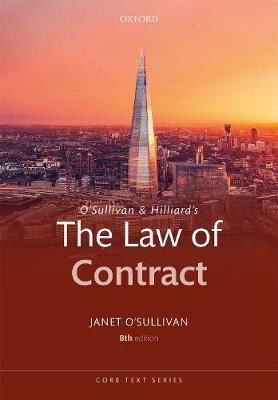O'Sullivan & Hilliard's The Law of Contract