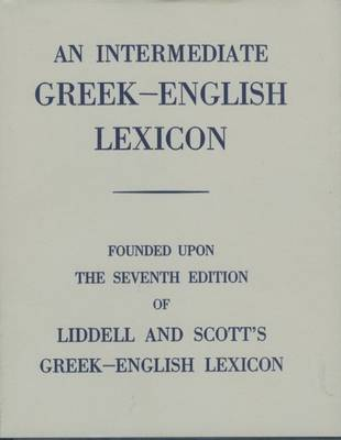 An Intermediate Greek Lexicon