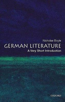 German Literature: A Very Short Introduction