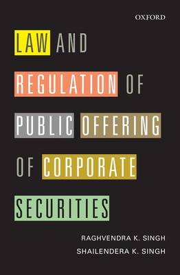 Law and Regulation of Public Offering of Corporate Securities