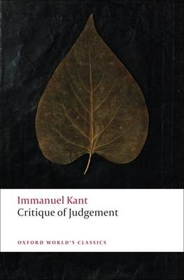 Critique of Judgement