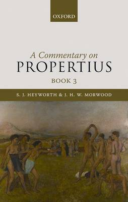 A Commentary on Propertius: Book 3
