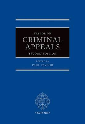 Taylor on Criminal Appeals