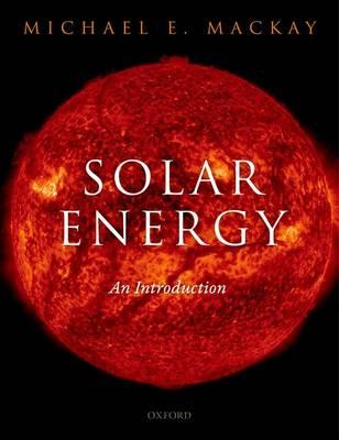 Solar Energy: An Introduction