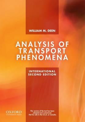 Analysis of Transport Phenomena