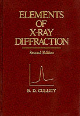 Elements Of Xray Diffraction
