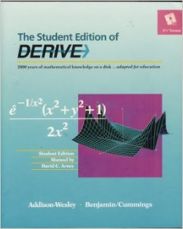 Student Edition Of Derive (book And Software 5.25 Diskette)