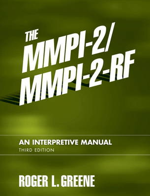 MMPI-2/MMPI-2-RF, The: An Interpretive Manual