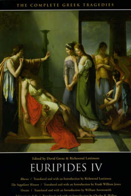 The Complete Greek Tragedies: v.6: Euripides: Pt.4
