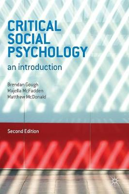 Critical Social Psychology: An Introduction: 2013