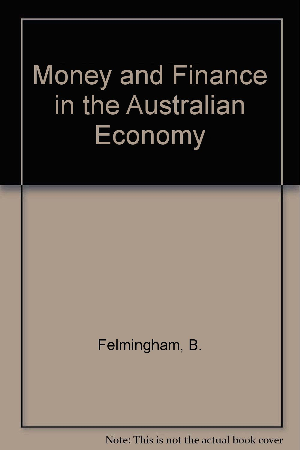 Money and Finance in the Australian Economy