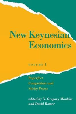 New Keynesian Economics: v. 1: Imperfect Competition and Sticky Prices