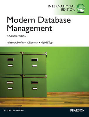 Modern Database Management Pearson International Edition