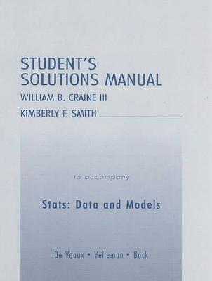 Stats: Data and Models: Student's Solutions Manual