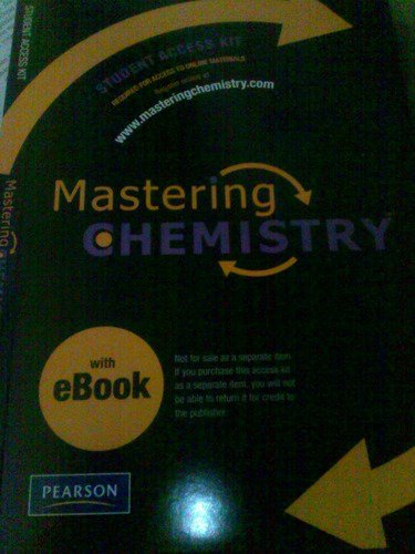 MasteringChemistry with Pearson eText Student Access Kit (ME Component)