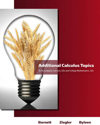 Additional Calculus Topics for Calculus for Business, Economics, Life Sciences and Social Sciences