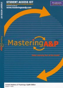 Mastering A&P -- Standalone Access Card -- for Human Anatomy & Physiology