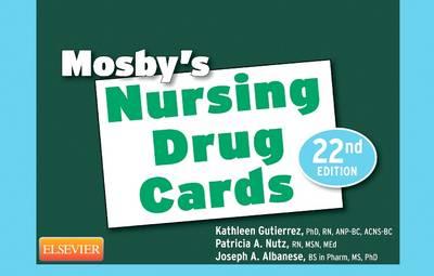 Mosby's Nursing Drug Cards