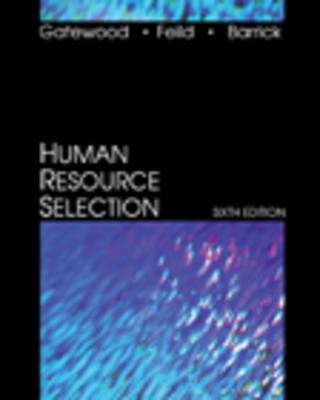 Human Resource Selection 6ed