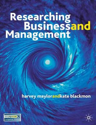 Researching Business and Management: A Roadmap for Success