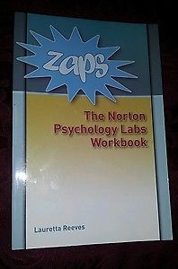 ZAPS: Norton Psychology Labs Workbook and Password Card