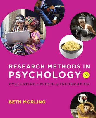 Research Methods in Psychology Evaluating a World of Information 2E