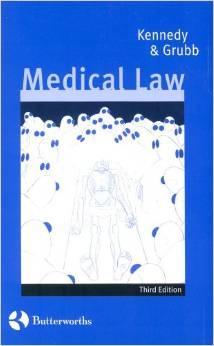 Medical Law: Text & Materials 3ed00