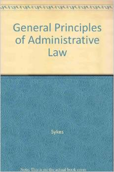 General Principals of Administrative Law
