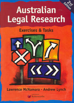 Australian Legal Research: Exercises and Tasks