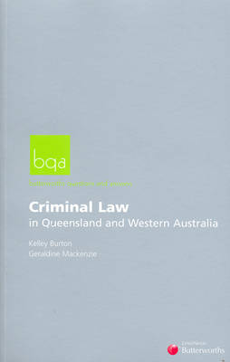 Butterworths Questions and Answers: Criminal Law in Queensland and Western Australia