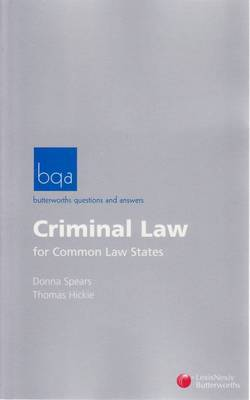 Bq&A: Criminal Law for Common Law States
