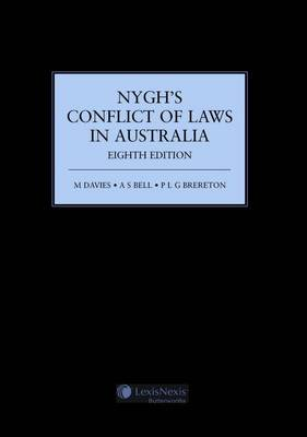 Nygh's Conflict of Laws in Australia