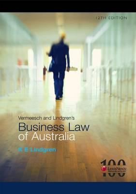 Vermeesch and Lindgren's Business Law of Australia