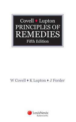 Covell and Lupton Principles of Remedies 5th Edition