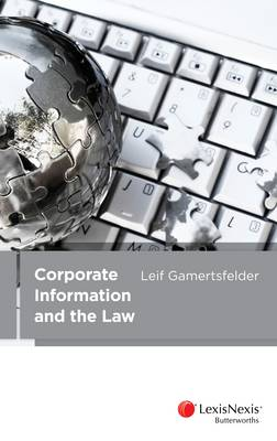 Corporate Information and the Law