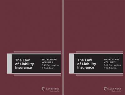 The Law of Liability Insurance: v. 1 and 2