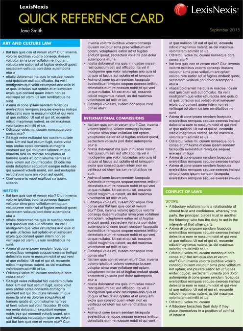 Quick Reference Card: Administrative Law, 2nd Edition