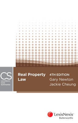Lexisnexis Case Summaries Real Property, 4th Edition