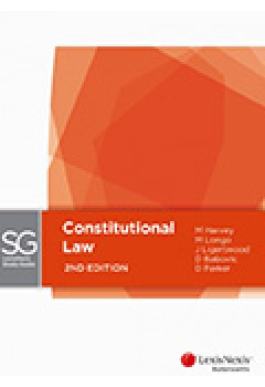 Lexisnexis Study Guide Constitutional Law, 2nd Edition