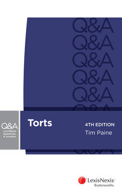 Lexisnexis Questions and Answers: Torts