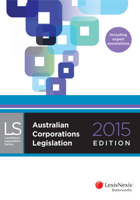 Australian Corporations Legislation 2015