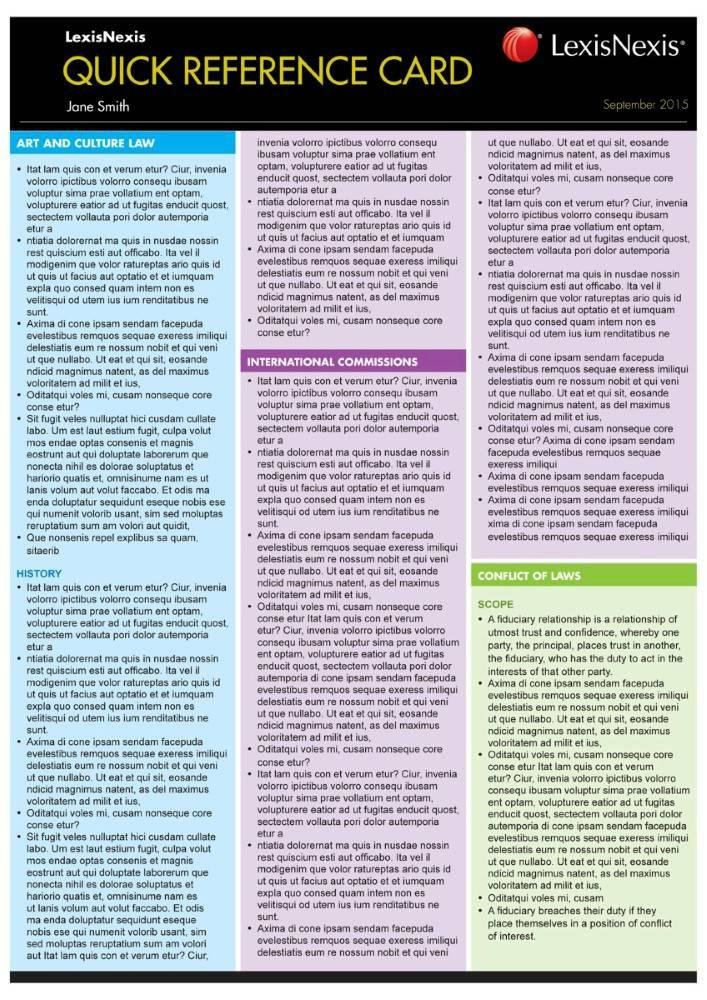 Quick Reference Card: Statutory Interpretation