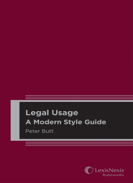 Legal Usage A Modern Style Guide