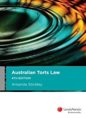 Australian Torts Law 4th edition