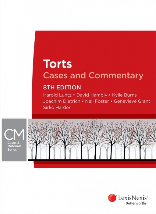 Torts : Cases and Commentary 8th edition