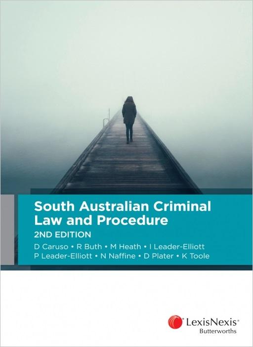 South Australian Criminal Law and Procedure