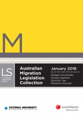 Australian Migration Legislation Collection, January 2018