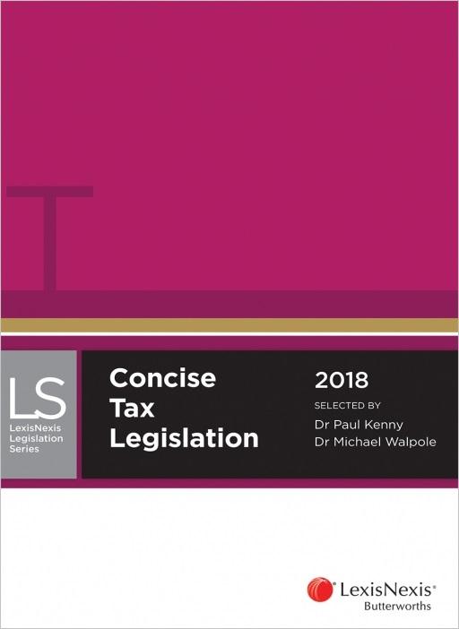 Concise Tax Legislation 2018