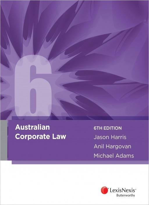 Australian Corporate Law 6th Edition