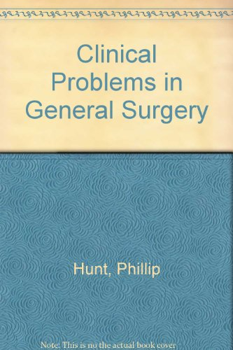 Clinical Problems in General Surgery